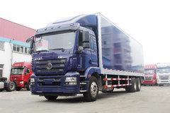 陕汽重卡 德龙新M3000 270马力 6X2 9.6米厢式载货车(SX5250XXYMA) 卡车图片