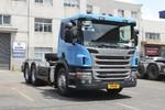 斯堪尼亚 P系列重卡 400马力 6X4牵引车(危险品运输)(型号P400)