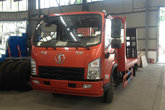陕汽商用 轩德X9 130马力 4X2 平板运输车(湖北成龙威-楚飞牌)(CLQ5040TPB5SX)