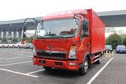中国重汽HOWO 悍将 重载版 129马力 4.15米单排厢式轻卡(ZZ5047XXYG3314E145)