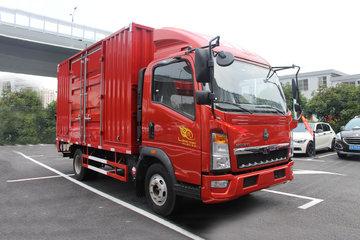 中国重汽HOWO 悍将 重载版 154马力 4.15米单排厢式轻卡(ZZ5047XXYF341CE145)