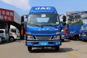 江淮 骏铃V6 120马力 3.85米排半厢式轻卡(HFC5043XXYP91K1C2V)