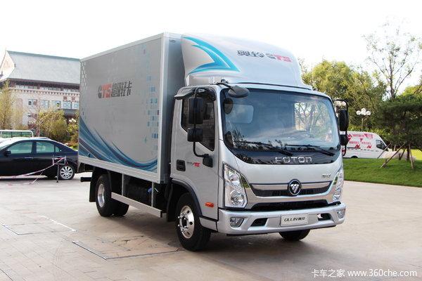 福田 奥铃CTS 143马力 4.14米单排厢式超级轻卡