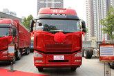一汽解放 J6P重卡 领航版 420马力 8X4 9.5米仓栅式载货车(CA5310CCYP66K24L7T4E5)