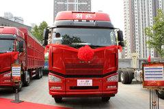 一汽解放 J6P重卡 标载型 350马力 8X4 9.5米仓栅式载货车(CA5310CCYP66K2L7T4E5)图片