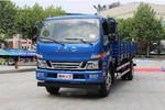 江淮 骏铃V7 154马力 4X2 6.2米排半栏板载货车(HFC1141P91K1D4)
