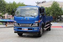 江淮 骏铃V7 154马力 4X2 6.2米排半栏板载货车(HFC1141P91K1D4) 卡车图片