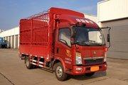中国重汽HOWO 悍将 物流版 156马力 4.15米单排仓栅式轻卡(ZZ5047CCYF341CE143)
