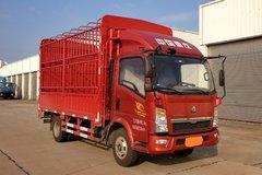 中国重汽HOWO 悍将 95马力 4.15米单排仓栅式轻卡(ZZ5047CCYF3315E145) 卡车图片