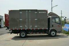 中国重汽HOWO 悍将 143马力 4.2米单排厢式轻卡(ZZ5047XXYF3315E145) 卡车图片