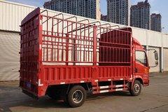 中国重汽HOWO 悍将 143马力 4.2米单排仓栅式轻卡(ZZ5047CCYF3315E145) 卡车图片