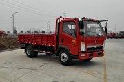 中国重汽HOWO 悍将 物流版 116马力 4.165米单排栏板轻卡(ZZ1047F3315E145)