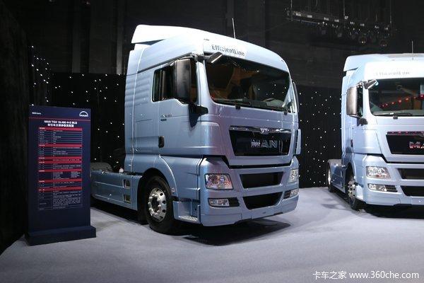 曼(MAN) TGX系列重卡 480马力 4X2自动挡牵引车(EfficientLine高效版)
