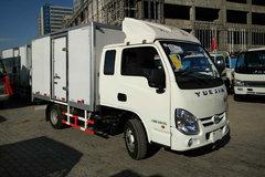 跃进 小福星S50Q 1.3L 87马力 汽油 3.2米排半厢式微卡(NJ5022XXYPBGBNZ3) 卡车图片