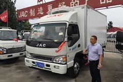 江淮 康铃H3宽体 130马力 4X2冷藏车(HFC5043XLCP91K1C2V)