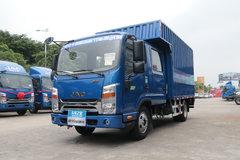 江淮 帅铃K340 152马力 3.075米双排厢式轻卡(HFC5041XXYR73K1C3V) 卡车图片