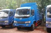 青岛解放 赛龙II中卡 130马力 4X2 5.8米仓栅载货车(CA5080XXYPK2EA80-1)