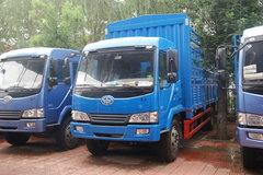 青岛解放 赛龙II中卡 130马力 4X2 5.8米仓栅载货车(CA5080XXYPK2EA80-1) 卡车图片
