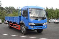 青岛解放 赛龙III中卡 160马力 4X2 6.2米排半栏板载货车(CA1166PK2L2EA80) 卡车图片