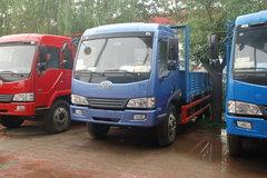 青岛解放 赛龙III中卡 160马力 4X2 5.8米排半栏板载货车(CA1127PK2EA80)