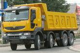 雷诺 Kerax重卡 392马力 8X4自卸车(长轴版)