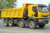 雷诺 Kerax重卡 392马力 8X4自卸车(标准版)