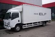 庆铃 700P系列中卡 175马力 4X2 5米厢式载货车(QL5090XTKAR)