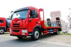 解放 龙V 180马力 4X2 平板运输车(湖北程力--程力威牌)(CLW5162TPBC5)