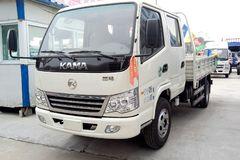 凯马 福来卡 95马力 3.3米双排栏板轻卡(KMC1042LLB33S4) 卡车图片
