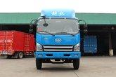 解放 麟V中卡 160马力 4X2 6.2米仓栅式载货车(CA5132CCYP40K2L5E5A85-1)