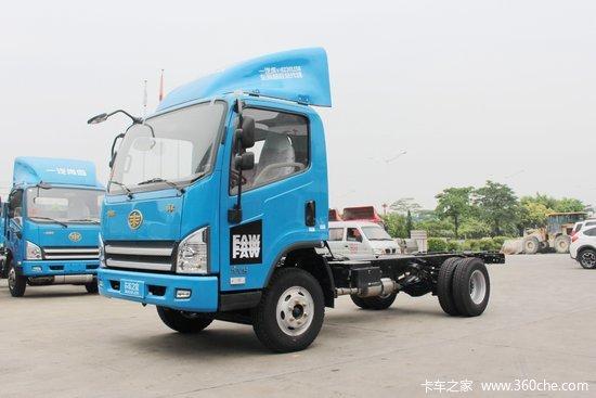 解放 虎VH 120马力 3300轴距单排轻卡底盘(CA5041XXYP40K2L1E5A84-3)