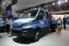 依维柯 Daily 205马力 4X2排半栏板载货车 卡车图片