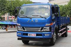 江淮 骏铃V7 160马力 4X2 5.2米栏板载货车(HFC1081P91K2C5) 卡车图片
