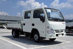 跃进 小福星S50 1.8L 68马力 柴油 2.4米双排栏板微卡(NJ1021PBBNS) 卡车图片