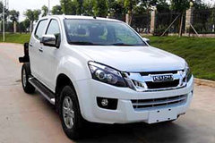 江西五十铃 D-MAX 3T柴油 177马力 两驱 双排皮卡底盘(JXW1030BSA) 卡车图片