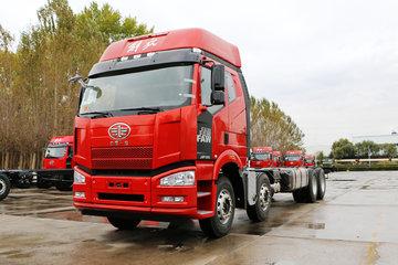 一汽解放 J6P重卡 绿通版 350马力 8X4 9.5米载货车(CA1310P66K2L7T4E5)