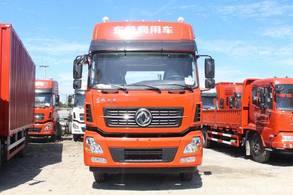 东风商用车 天龙重卡 245马力 6X2 9.6米厢式载货车