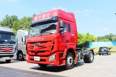 四川现代 致道800W重卡 310马力 4X2牵引车(CNJ4180KPG36V) 卡车图片