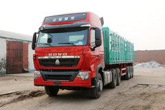 中国重汽 HOWO T7H重卡 440马力 6X4牵引车(MCY11双后桥)(高顶)(ZZ4257V324HD1B) 卡车图片