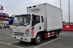 大运轻卡 奥普力 4X2 125马力 4.1米冷藏车(CGC5046XLCHDD33D)