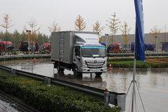 福田 欧马可S3系 143马力 4.2米单排厢式轻卡 卡车图片