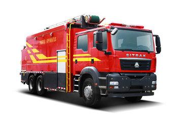 中国重汽 汕德卡SITRAK C7H重卡 440马力 6X4消防车底盘(ZZ5356V524ME1)图片