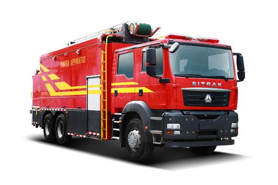 中国重汽 汕德卡SITRAK C7H重卡 440马力 6X4消防车底盘(ZZ5356V524ME1)