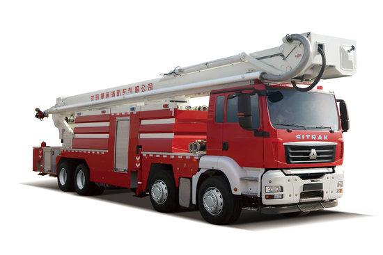 中国重汽 汕德卡SITRAK C7H重卡 440马力 8X4举高喷射消防车底盘(ZZ5446V516ME1)
