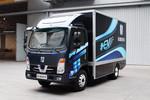 吉利远程 E200 标准版 4.2米单排厢式载货车(侧开门)(纯电动)(DNC5070XXYBEV01)