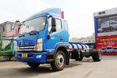 江淮帅铃 威司达W500中卡 160马力 4X2 6.8米厢式载货车底盘(HFC5162XXYP70K1E1)