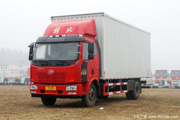 一汽解放 J6L中卡 180马力 4X2 7.7米厢式载货车(CA5160XXYP62K1L5E5)