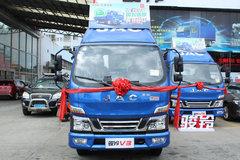 江淮 骏铃V3 120马力 4.2米单排厢式轻卡(HFC5041XXYP93K6C2) 卡车图片