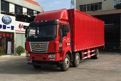 一汽柳特 金陆中卡 220马力 6X2 9.6米厢式载货车(LZT5250XXYPK2E4L8T3A95) 卡车图片