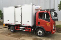 重汽HOWO 悍将 170马力 4X2 冷藏车(ZZ5047XLCF341CE145)